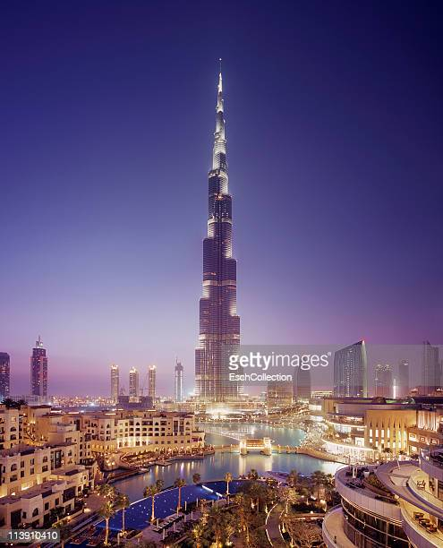 Downtown Dubai with the Burj Khalifa