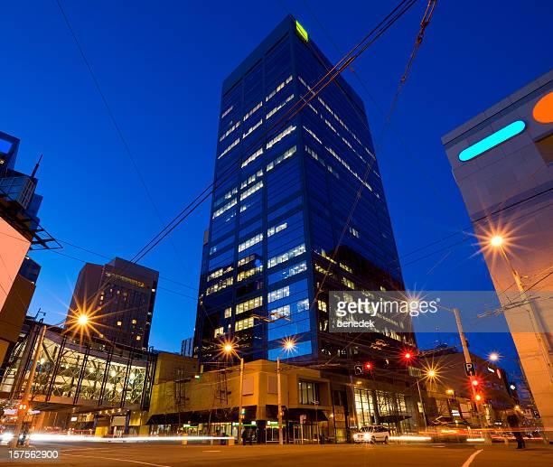 downtown edmonton, canada - edmonton stock pictures, royalty-free photos & images