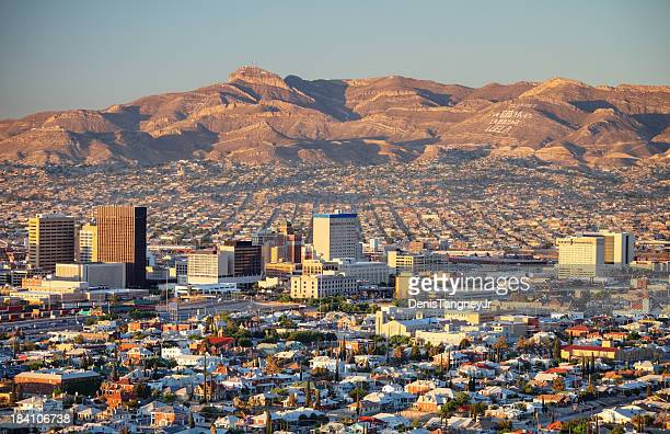 downtown el paso - el paso stock pictures, royalty-free photos & images