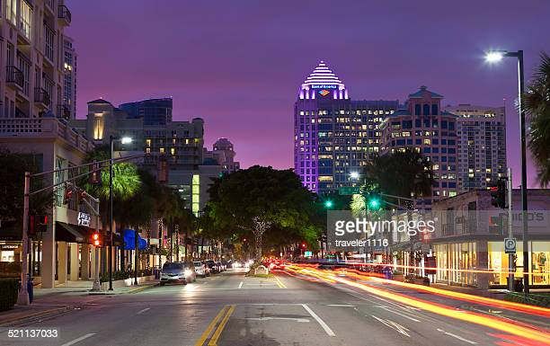 downtown fort lauderdale, florida - fort lauderdale stock pictures, royalty-free photos & images