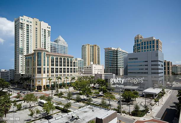 downtown fort lauderdale - fort lauderdale stock pictures, royalty-free photos & images