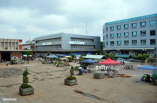 Downtown Gaborone,  Botswana