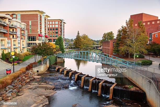 downtown greenville south carolina - template_talk:south_carolina stock pictures, royalty-free photos & images