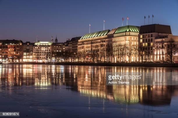 Downtown Hamburg, Germany, Europe