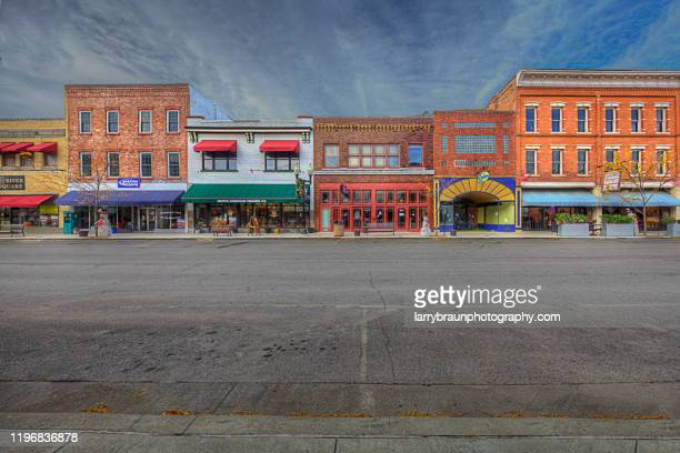 downtown hannibal - missouri stock pictures, royalty-free photos & images