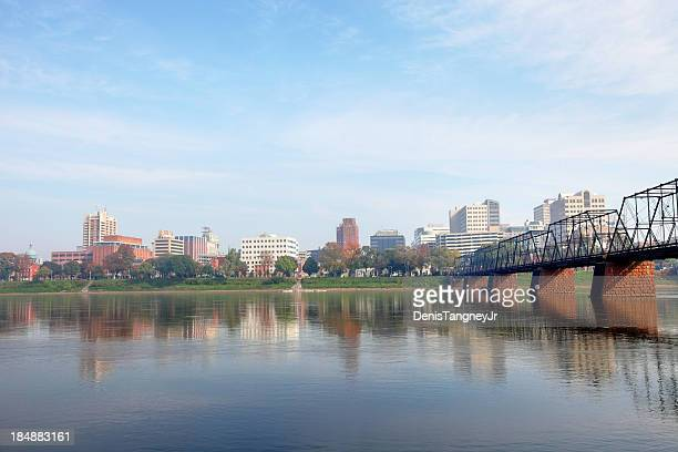 downtown harrisburg - harrisburg pennsylvania stock pictures, royalty-free photos & images
