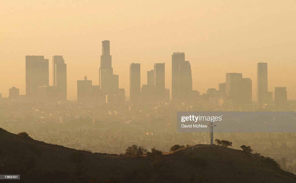 Los Angeles Air Still Among Nation's Dirtiest : News Photo