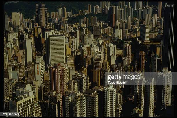downtown hong kong - gipstein stock pictures, royalty-free photos & images