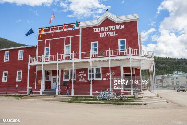 Hotel del centro de la ciudad de Dawson, Yukon
