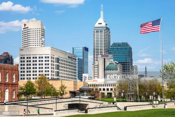 Downtown Indianapolis.