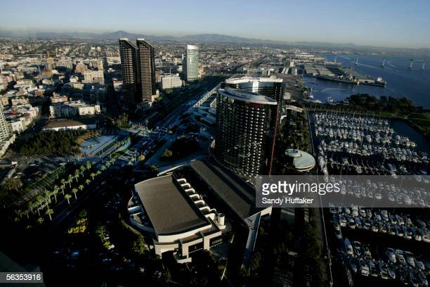 Downtown is shown December 6 2005 in San Diego California San Diego's official slogan 'America's Finest City' which was quietly taken off city signs...