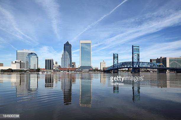 downtown jacksonville, fl - jacksonville florida stock pictures, royalty-free photos & images