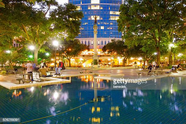 downtown jacksonville, florida - jacksonville florida stock pictures, royalty-free photos & images