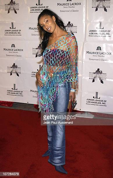"""Downtown Julie Brown during Maurice Lacroix Presents The Junior League of Los Angeles """"Viva Los Angeles"""" Casino Night - Arrivals at Jim Henson..."""