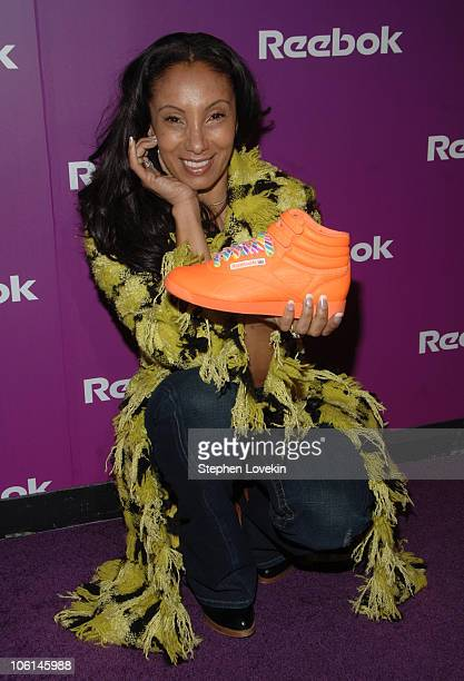 Downtown Julie Brown during Reebok Celebrates the 25th Anniversary of the Freestyle Colllection at Culture Club in New York City, New York, United...