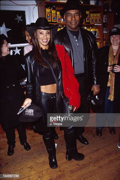 Downtown Julie Brown during Sundance Film Festival 2000 - Balthazar Getty's Birthday Party in Park City, Utah, United States.