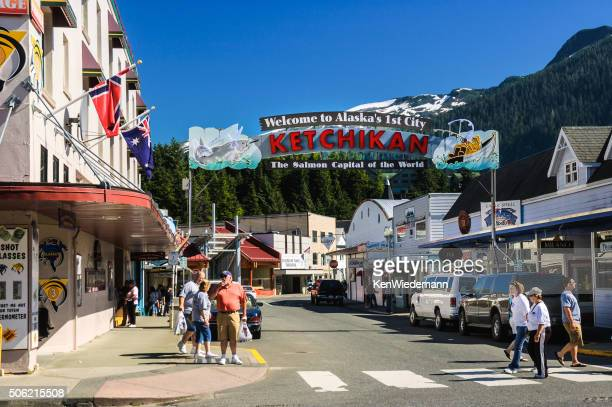 Downtown Ketchikan
