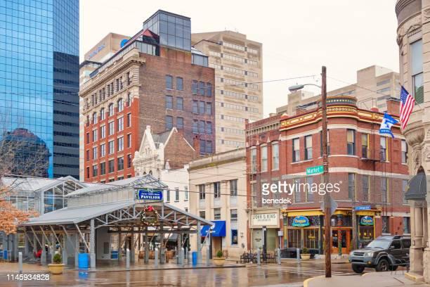 ダウンタウンレキシントンケンタッキーアメリカ - ケンタッキー州 ストックフォトと画像