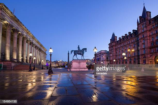 Downtown Liverpool England UK St Georges Plateau