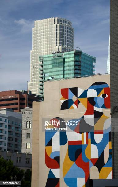 Downtown Los Angeles Art Mural