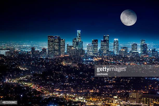 Downtown Los Angeles Cityscape