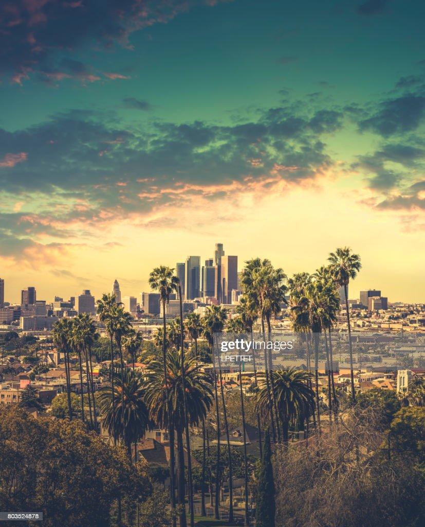 DTLA centro de Los Angeles : Foto de stock