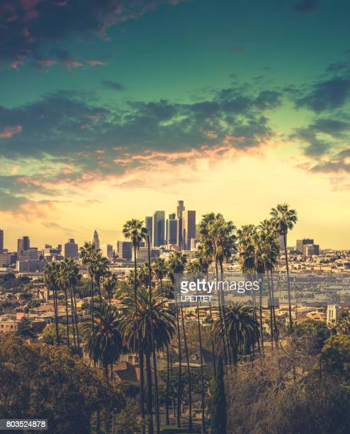 dtla downtown los angeles - hollywood california stock pictures, royalty-free photos & images