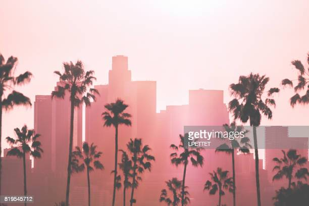 los angeles centrum - hollywood kalifornien bildbanksfoton och bilder