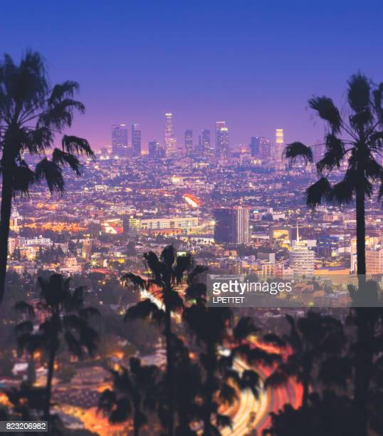 downtown los angeles - hollywood stock pictures, royalty-free photos & images