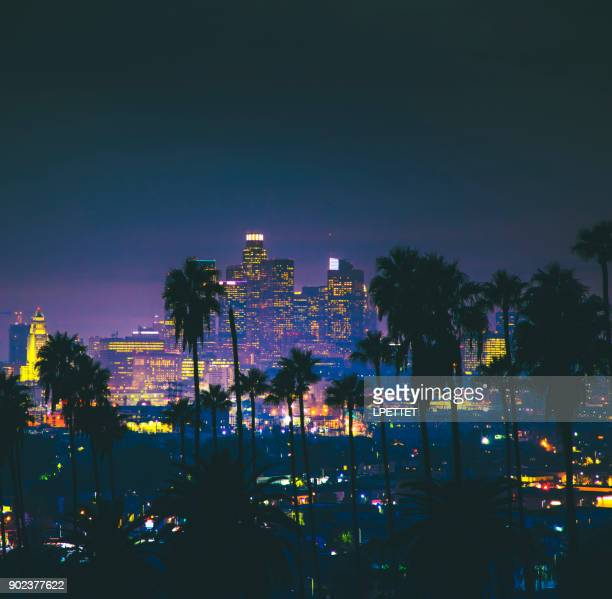 downtown los angeles - city of los angeles stock pictures, royalty-free photos & images
