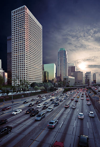 Downtown Los Angeles Traffic