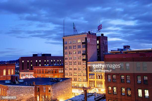 downtown lowell - lowell massachusetts stock pictures, royalty-free photos & images
