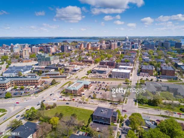Der Innenstadt von Madison, Wisconsin