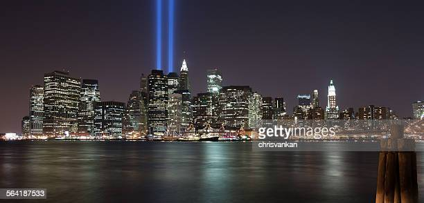 Downtown Manhattan on 9/11, New York, USA