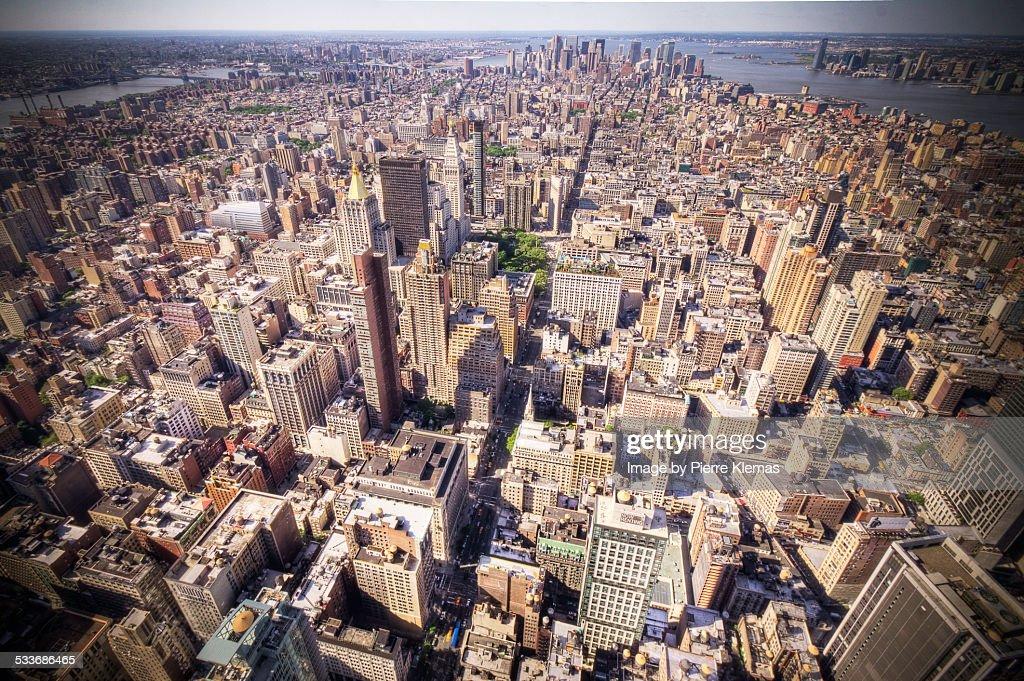 NYC Downtown Manhattan : Foto stock