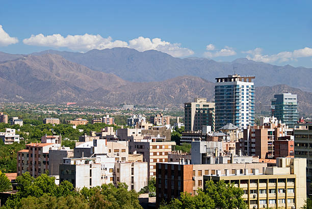 Downtown Mendoza From A Rooftop Wall Art