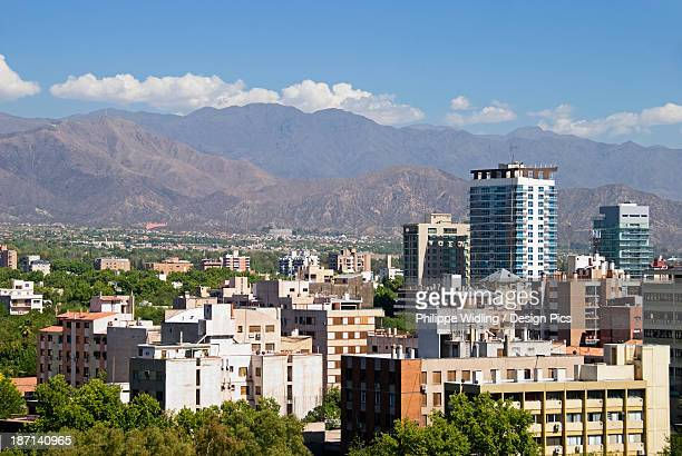 Downtown Mendoza From A Rooftop