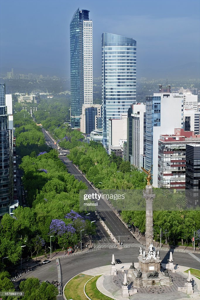 Downtown Mexico City in Mexico : Stock Photo