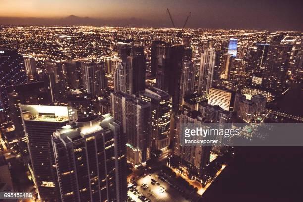 downtown miami aerial view