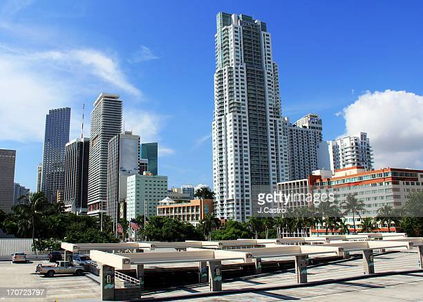 downtown miami - downtown miami stock pictures, royalty-free photos & images