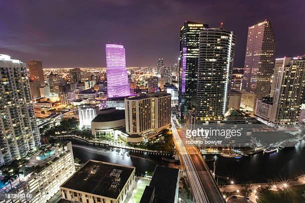 downtown miami - downtown miami stock pictures, royalty-free photos & images