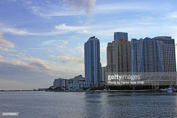 downtown miami - miami dade county stock photos and pictures
