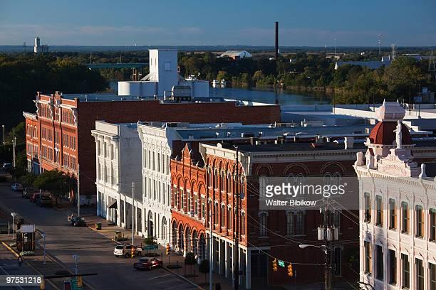 downtown montgomery - condado de montgomery alabama - fotografias e filmes do acervo