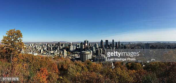 Downtown Montreal in Fall