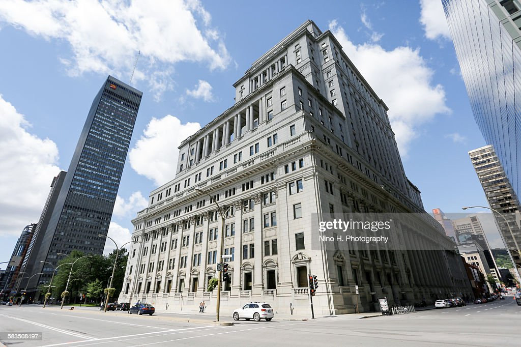 Downtown Montreal : Stock Photo