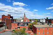 Downtown Nashua New Hampshire skyline