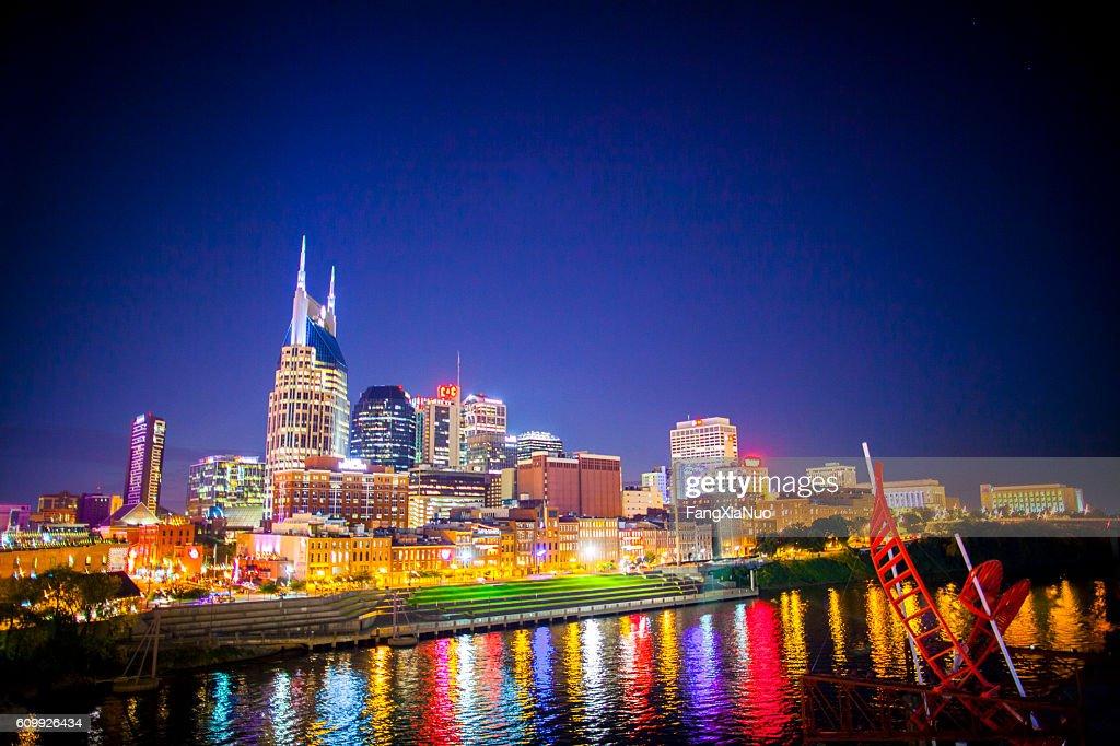 Downtown Nashville skyline cityscape : Stock Photo