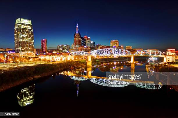 Downtown Nashville Tennessee Skyline