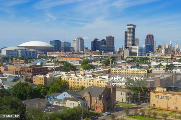 downtown new orleans, louisiana - new orleans stock pictures, royalty-free photos & images