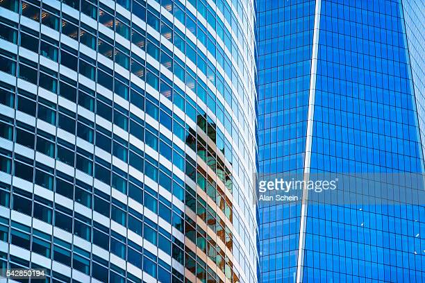 Downtown NYC financial center,